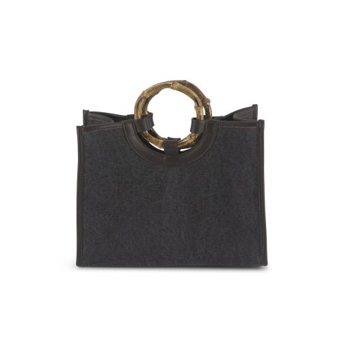 BAMBOO BAG LARGE DELAVE' 29X37X11