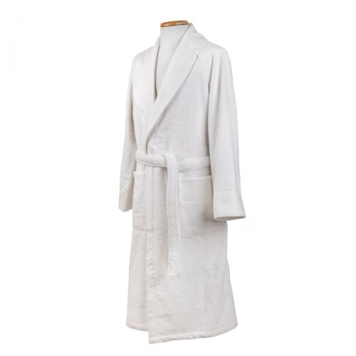 ADDA: TERRY BATHROBE WITH APPLY BORDER